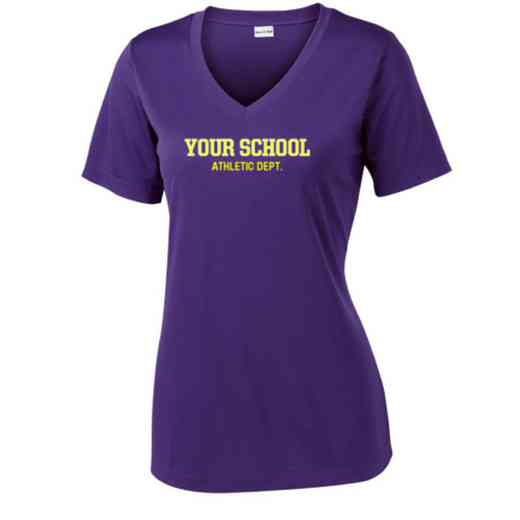 Athletic Department Sport Tek Womens V-Neck Competitor T-shirt